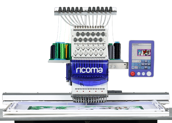 Ricoma SWD Series - 8 Inch Touch Screen Embroidery Machines with extra large Embroidery Area